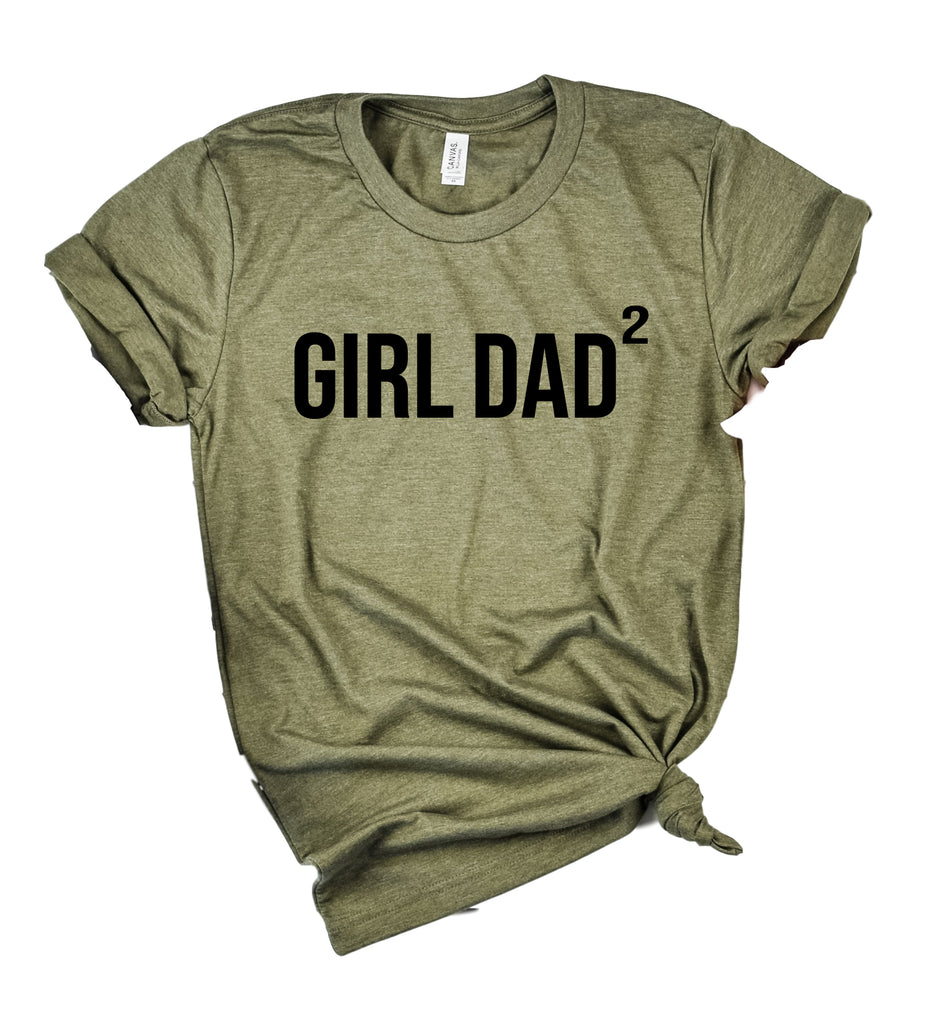 Girl Dad Shirt Custom Dad Shirt | Unisex Crew - BirchBearCo