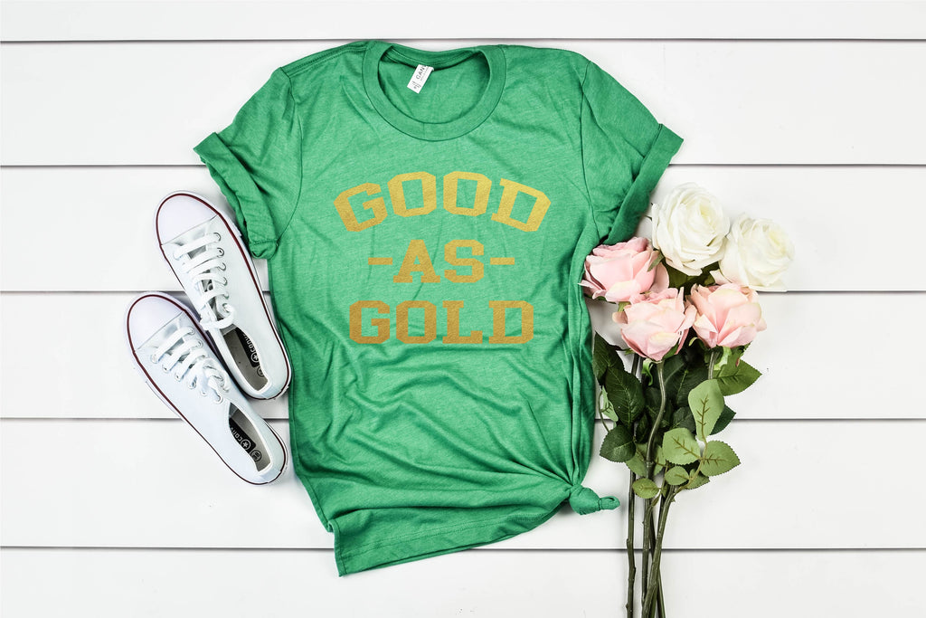 Good As Gold - St Patrick's Day Shirt - BirchBearCo