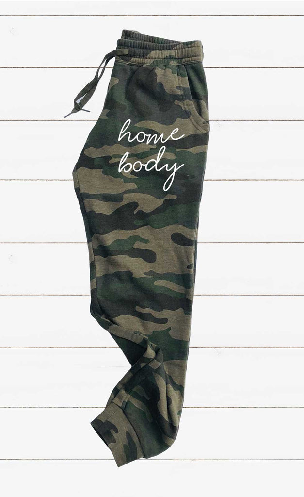 Home Body Graphic Women's Soft Washed Sweatpants - BirchBearCo
