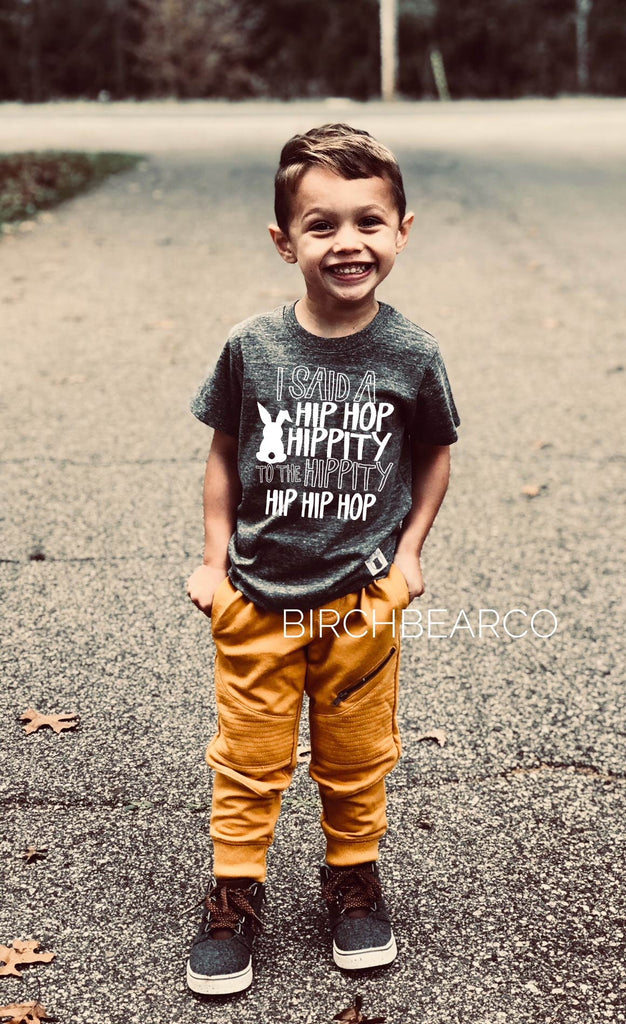 I Said A Hip Hop | Unisex Kids Easter Shirt - BirchBearCo