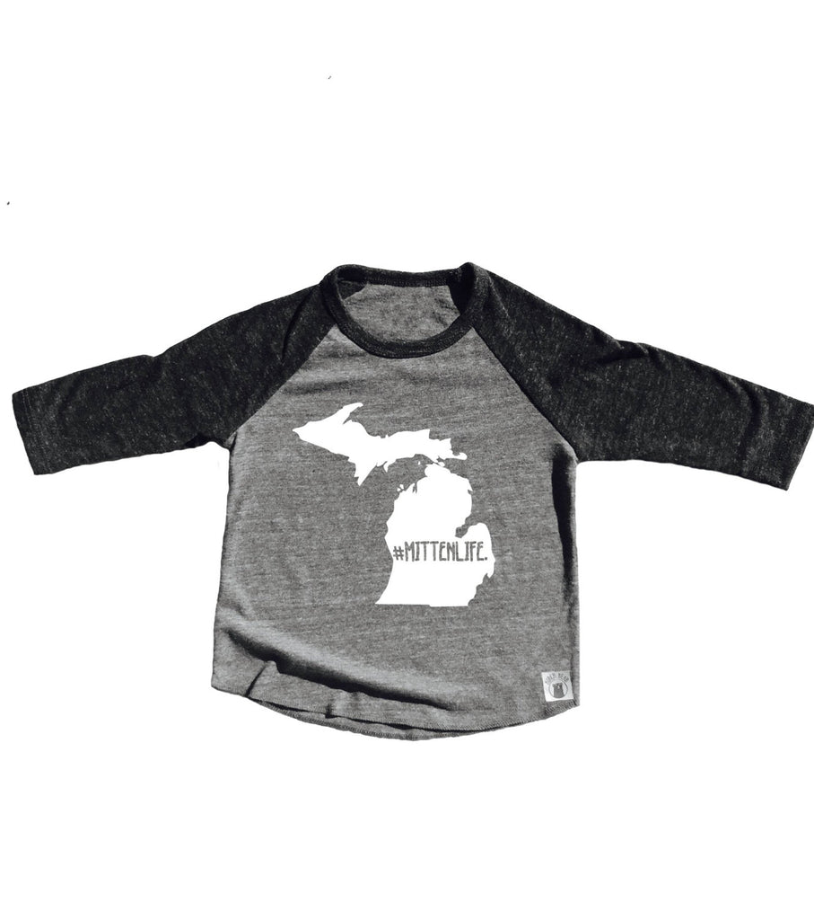 Michigan Mitten Life Shirt - BirchBearCo