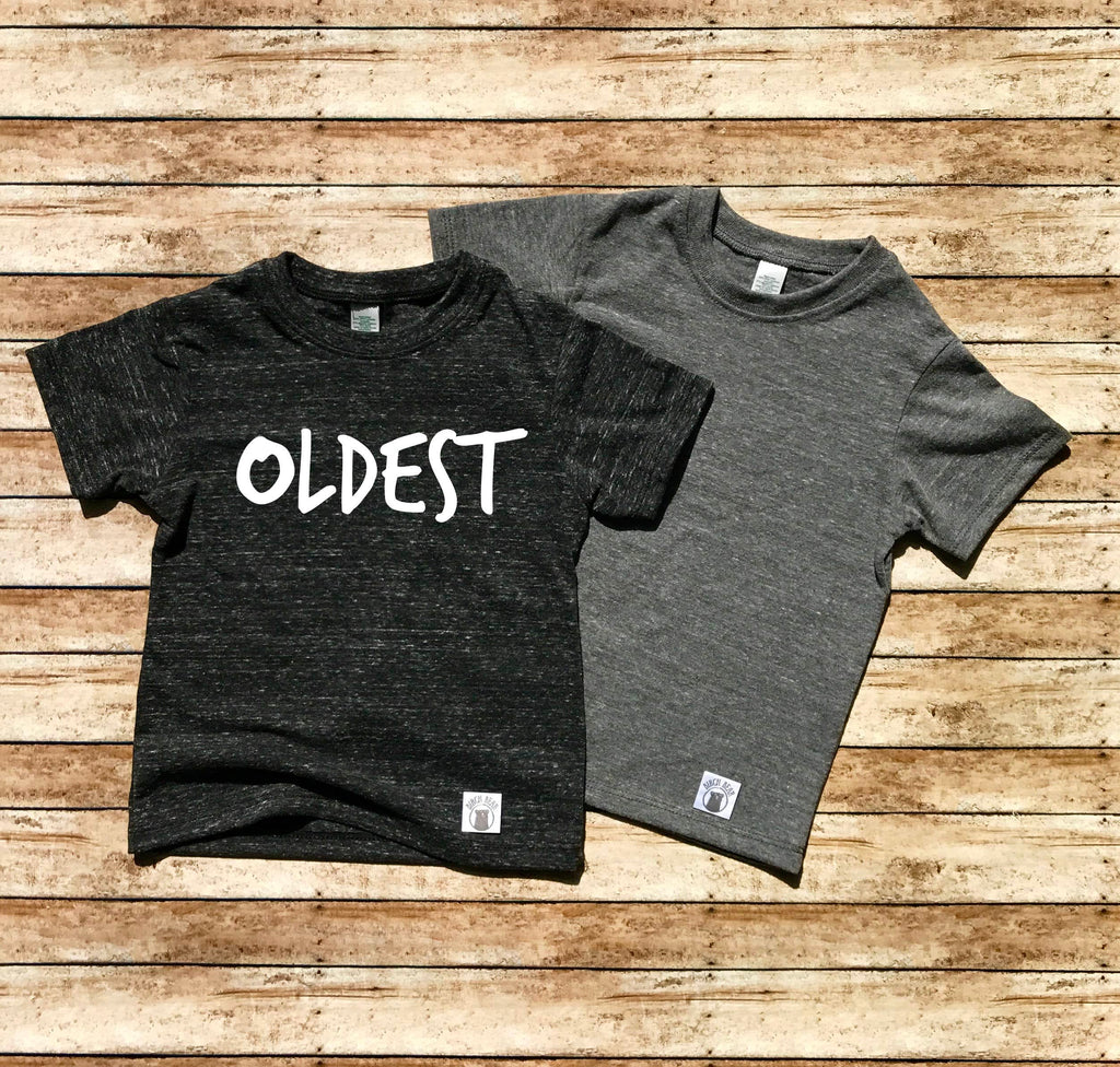 Middle Child Shirt - Oldest Child Pregnancy Announcement Shirt - BirchBearCo