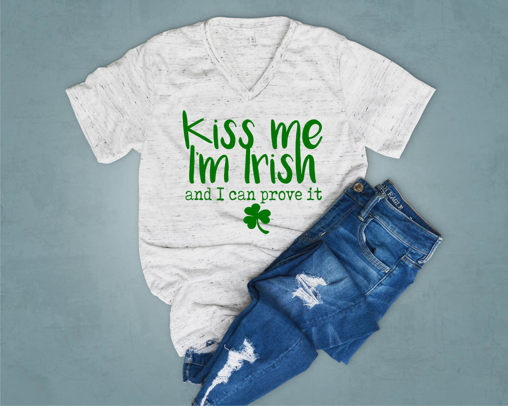 Kiss Me I'm Irish - St. Patricks Day Shirts - BirchBearCo