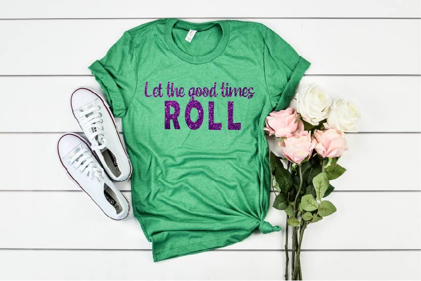 Let The Good Times Roll - Mardi Gras Shirt - BirchBearCo