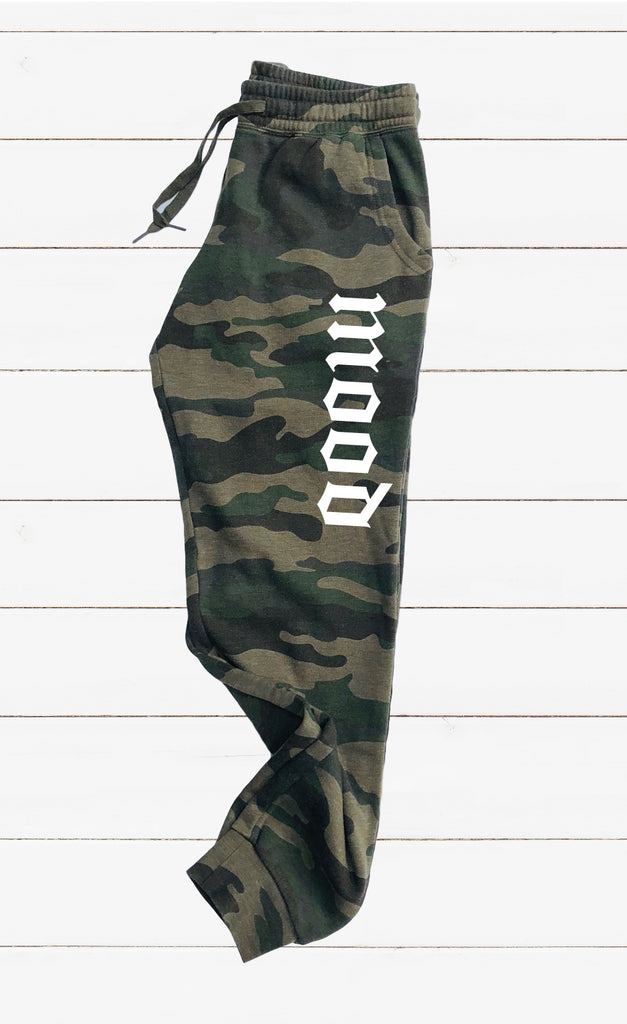 Mood Graphic Women's Soft Washed Sweatpants - BirchBearCo