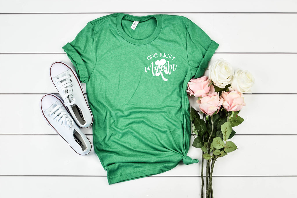 One Lucky Mama - St Patrick's Day Shirt - BirchBearCo