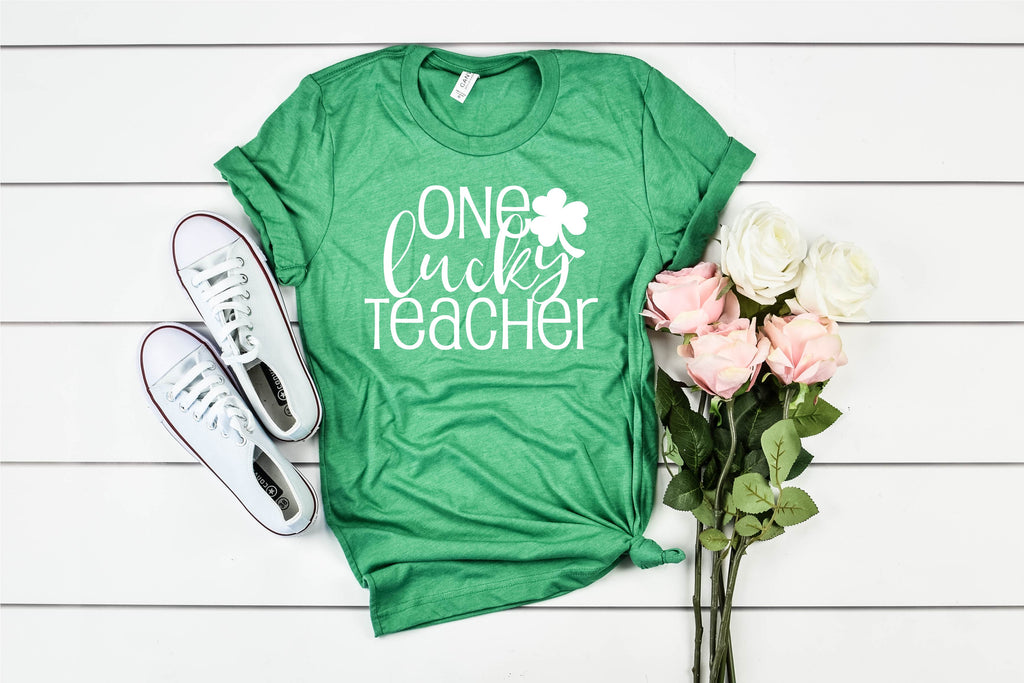 One Lucky Teacher - St Patrick's Day Shirt - BirchBearCo
