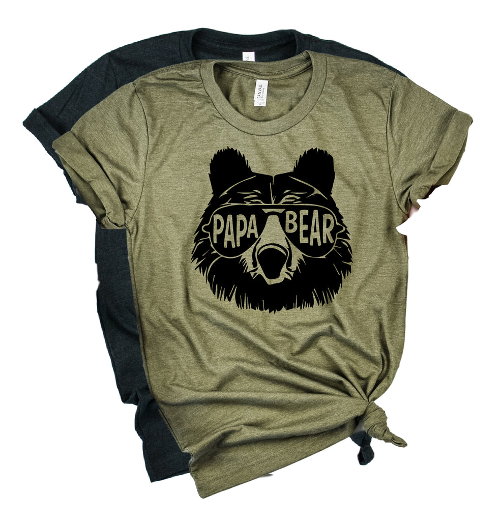 Papa Bear Shirt | Mens Shirt | Dad Shirt | Husband Shirt - BirchBearCo