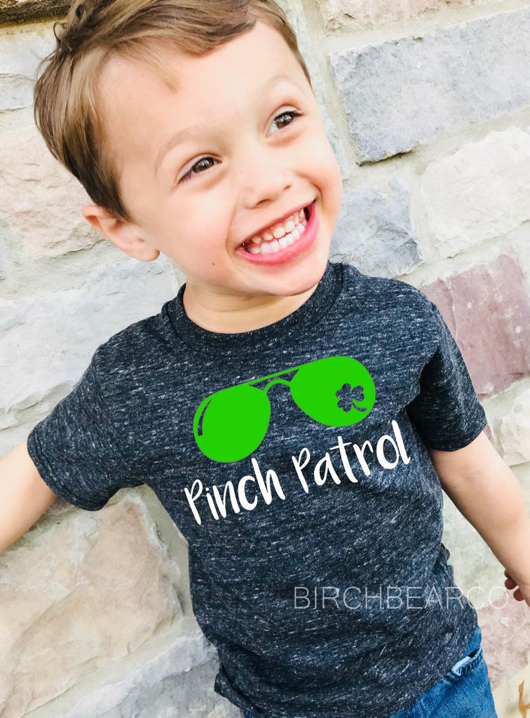 Pinch Patrol Shirt - Kids St Patricks Day Shirt - BirchBearCo
