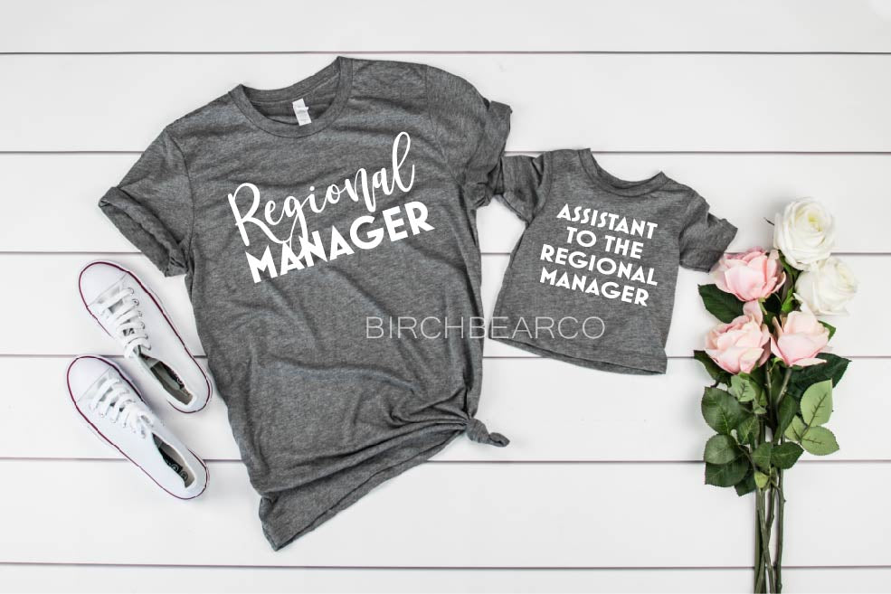 Mommy and Me - Manager Assistant To The Regional Manager Set - BirchBearCo