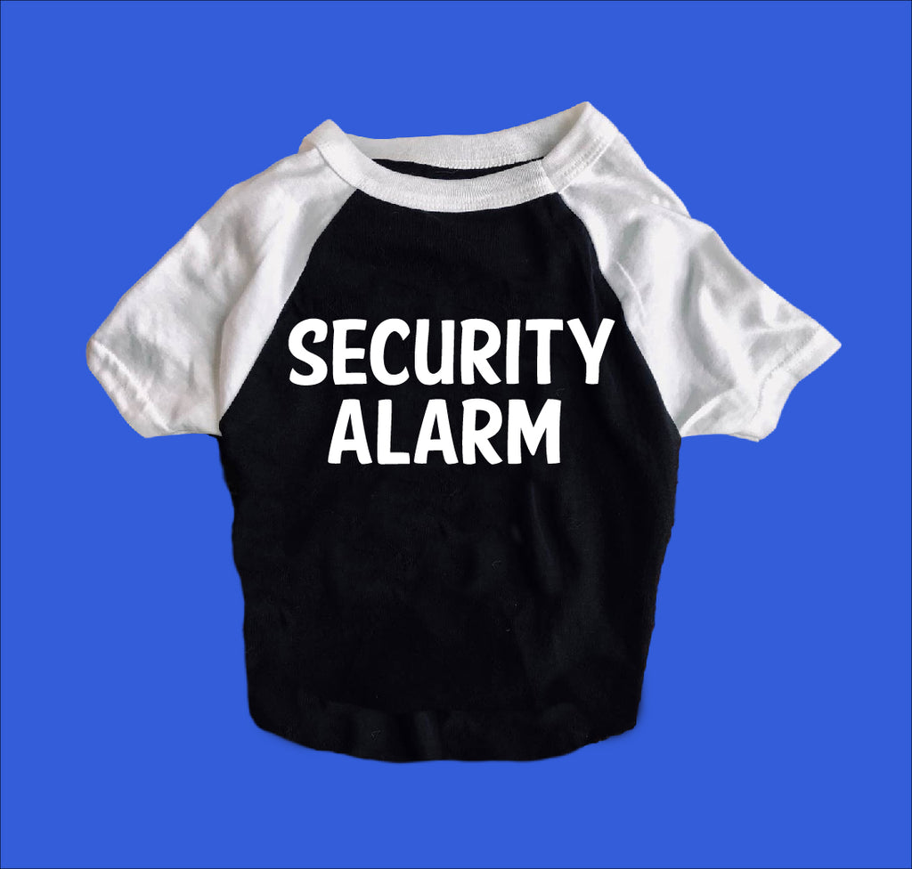 Security Alarm Shirt | Dog Shirts For Dogs - BirchBearCo