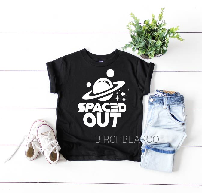 Kids Spaced Out Shirt - BirchBearCo
