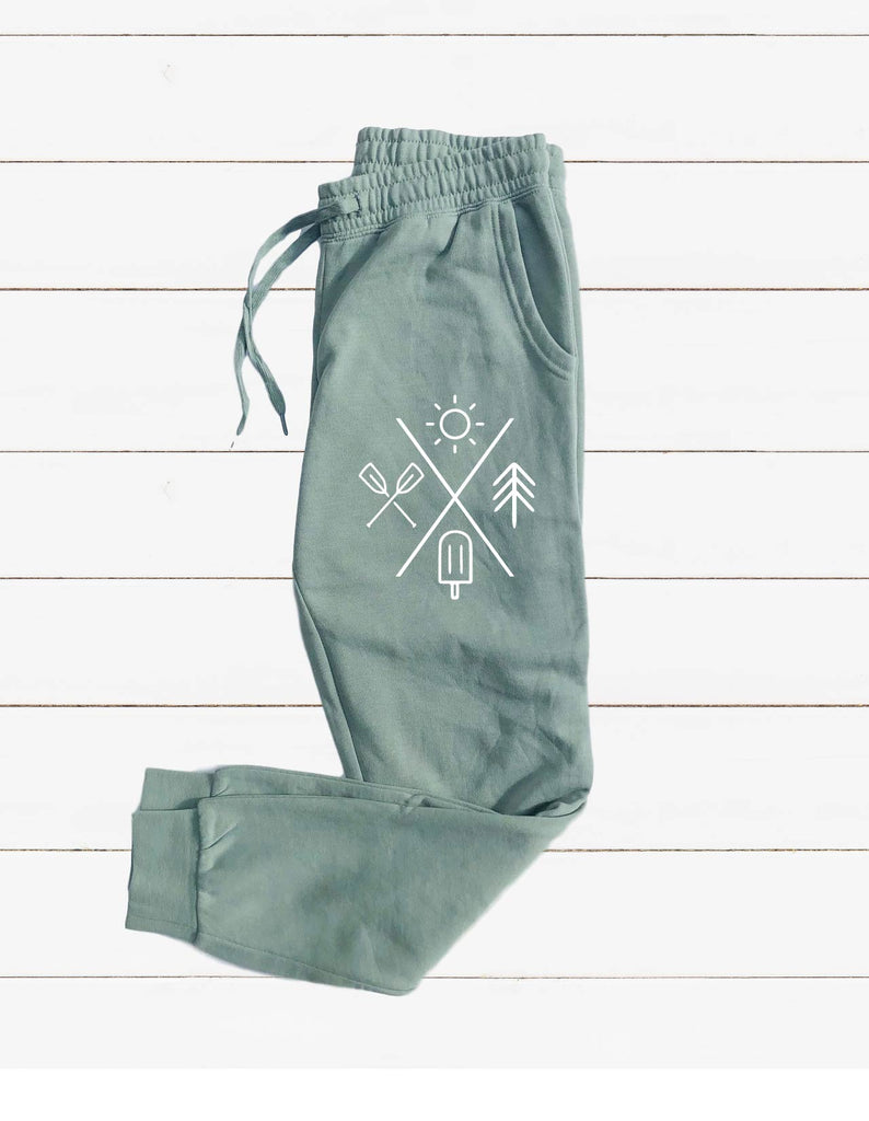 Summer Graphic Women's Soft Washed Sweatpants - BirchBearCo