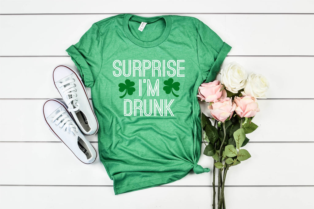 Surprise I'm Drunk - St Patrick's Day Shirt - BirchBearCo