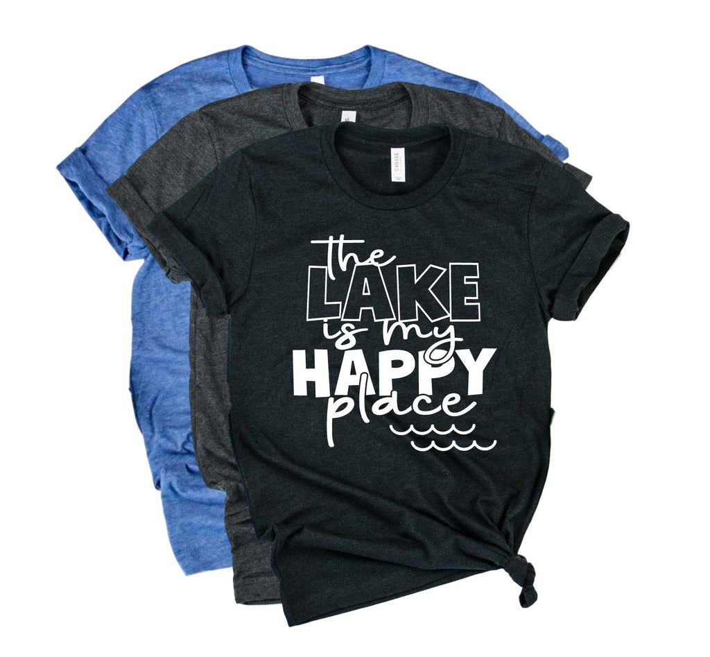 The Lake Is My Happy Place Shirt | Lake Shirt | Vacation ...