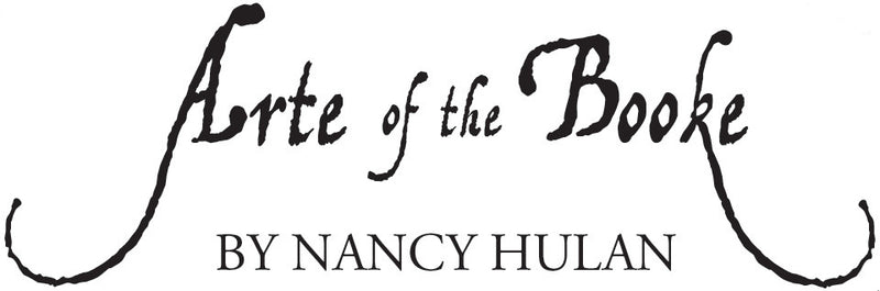 Arte of the Booke by Nancy Hulan logo