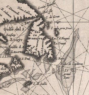 map detail North America