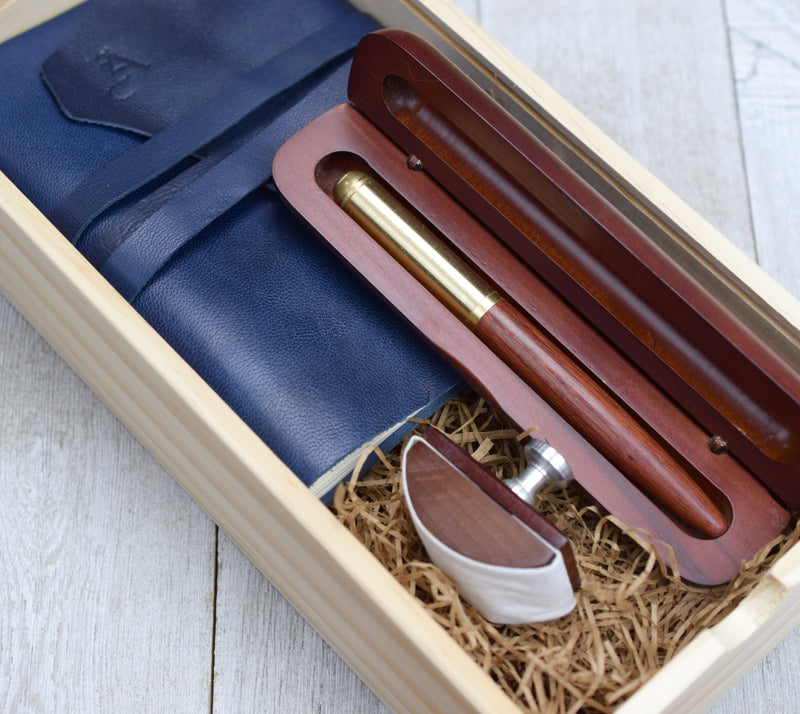 Fountain Pen and Journal in Boxed Gift Set