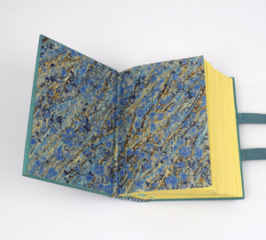 Blue Leather Hardback Journal, One of a Kind