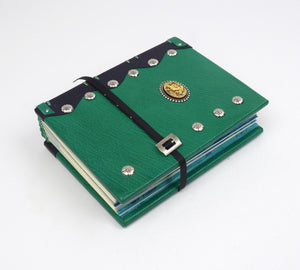 Green Mermaid Journal with Coptic Binding
