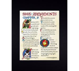 book of armaments chapter 2