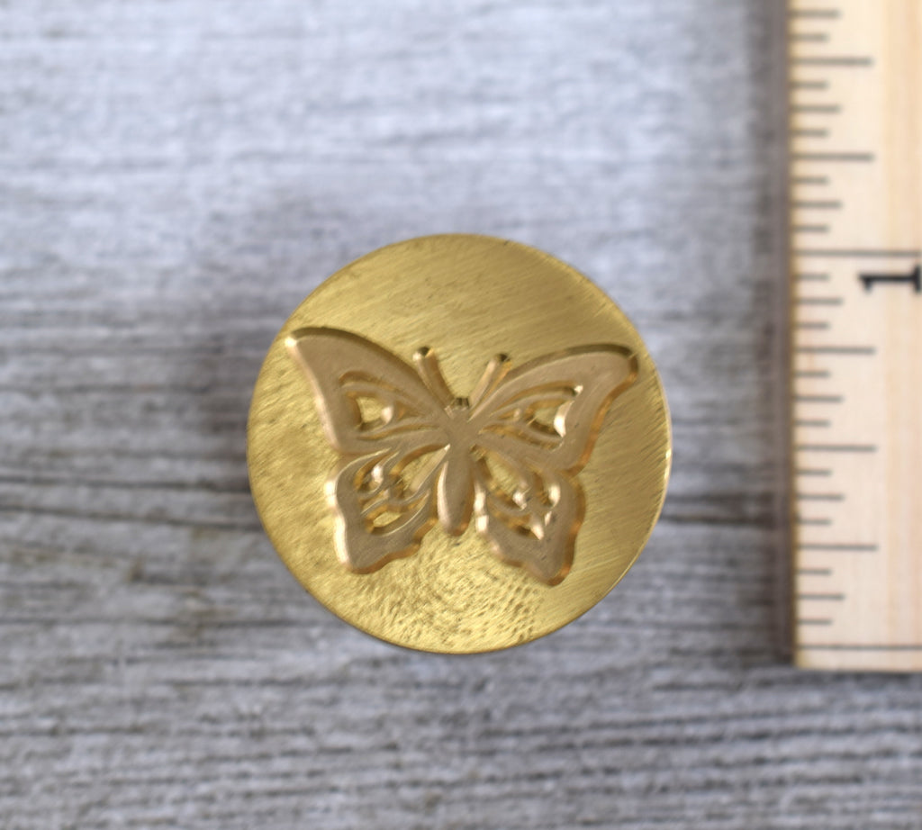 butterfly wax seal stamp head