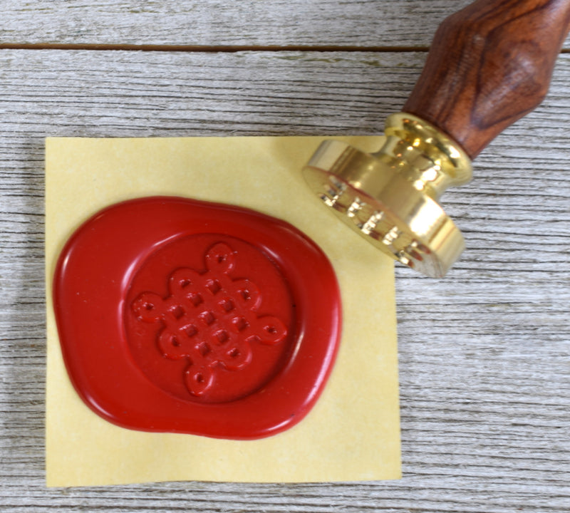 celtic knot wax seal