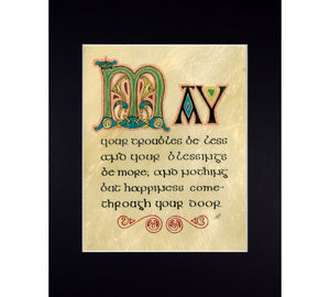 Irish prayer fine art print