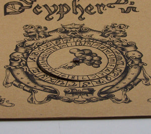 Queen Mary's cipher wheel detail