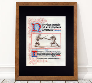 three musketeers quote art print