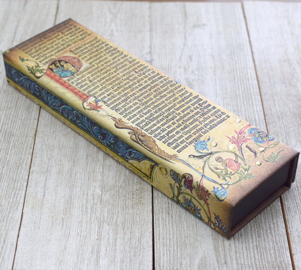 Gutenberg Bible Pen Case