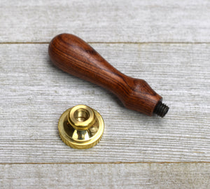 wax seal stamp and handle
