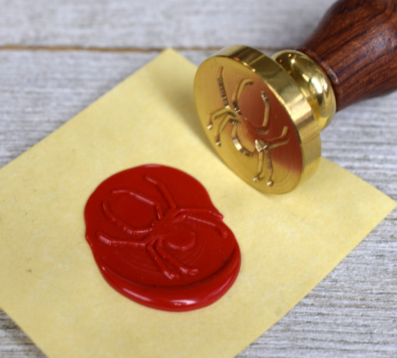 spider wax seal stamp