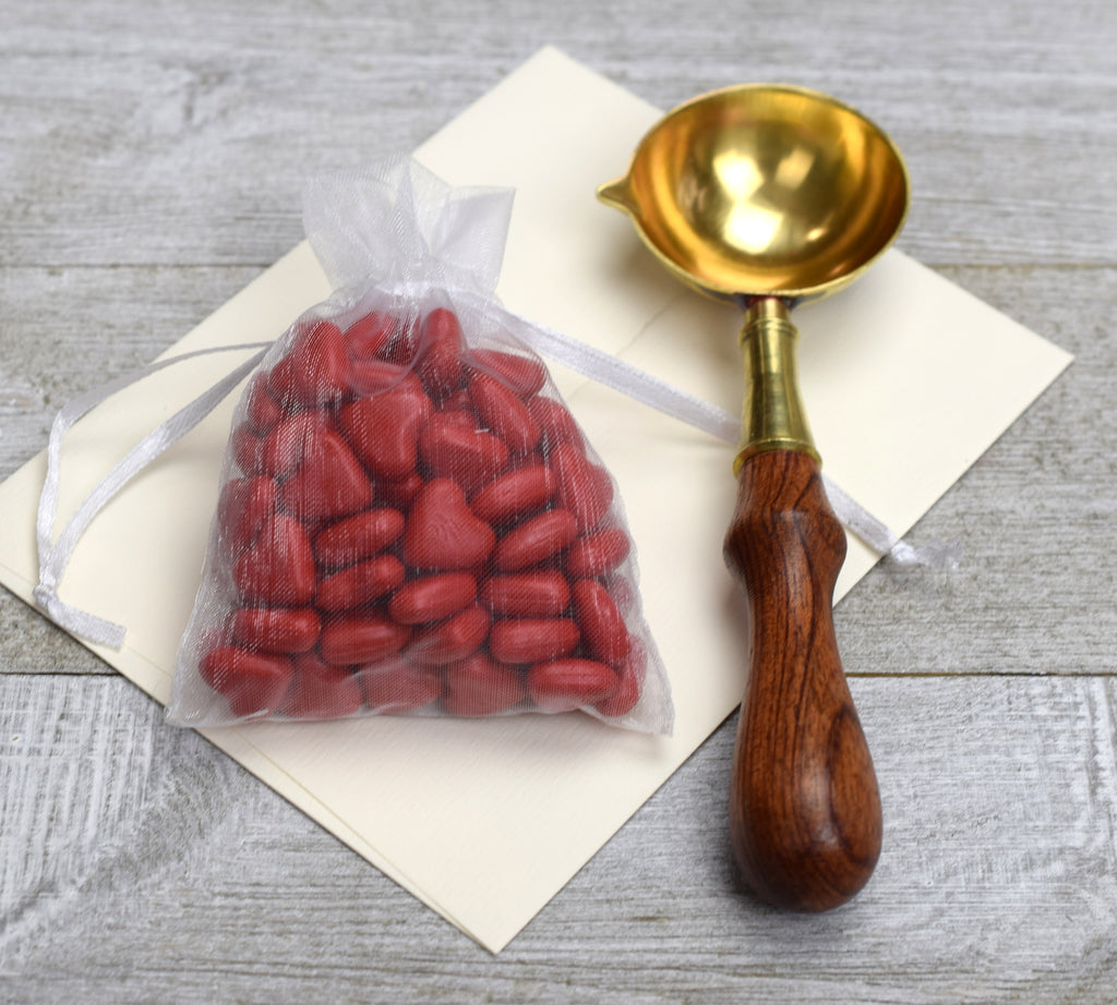 wedding invitation wax seal kit with spoon