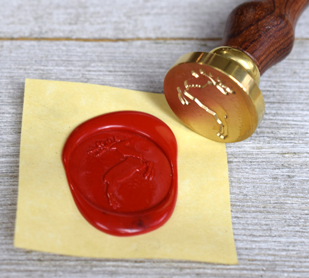 stag wax seal stamp