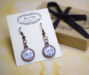Thor and Loki Earrings, Famous Pairs Literary Jewelry