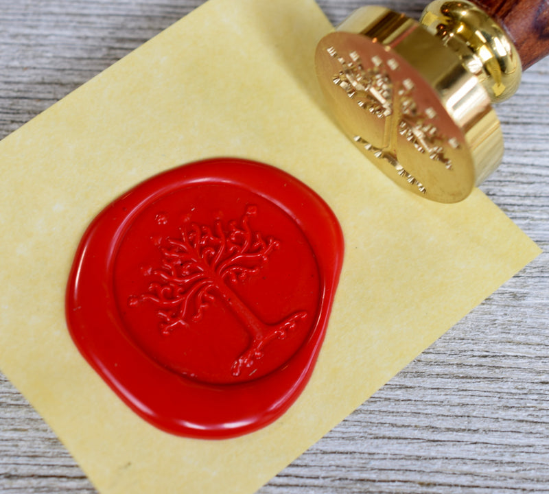 wax seal stamp handle measurements