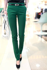Spring Pencil Trouser - Bougie Dame