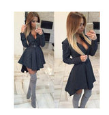 Peplum Shirt Dress - Bougie Dame