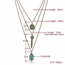 CHICVIE Long Bohemian Gold color Bead Necklaces & Pendants For Women Boho Vintage Statement Colar Ethnic Alloy Jewelry SNE150881