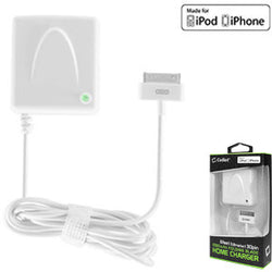 Cellet 5Watt (1Amp) Home Charger with Folding Blade For Apple 30PIN, iPhones, iPod Touch, Nano (Made for iPhone Licensed by Apple) - Mobile Accessories USA