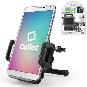Cellet Car Vent Smartphone Holder for Phones up to 4 Inches Wide - Mobile Accessories USA