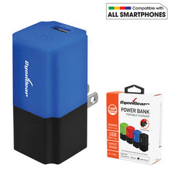 2 IN 1 Home and Travel Charger in Portable Power Bank- by Cyongear - Mobile Accessories USA