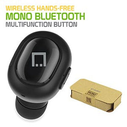 Ultra Compact Wireless mono Bluetooth earbud - by Cellet - Mobile Accessories USA