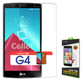 Cellet Premium Tempered Glass Screen Protector for LG G4 - Mobile Accessories USA