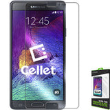 Cellet Premium Tempered Glass Screen Protector for Samsung Galaxy Note 4 (0.3mm) - Mobile Accessories USA