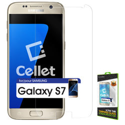 Cellet Premium Tempered Glass Screen Protector for Samsung Galaxy S7 (0.3mm) - Mobile Accessories USA
