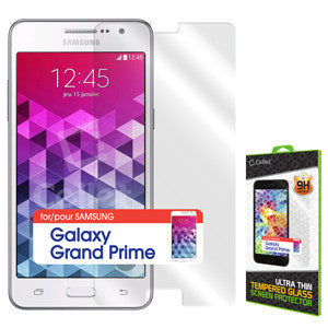 Cellet Premium Tempered Glass Screen Protector for Samsung Galaxy Grand Prime (0.3mm) - Mobile Accessories USA