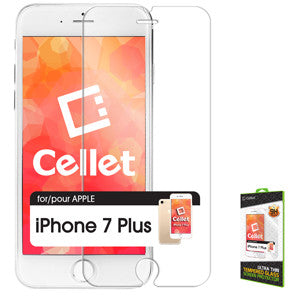 Cellet Premium Tempered Glass Screen Protector for Apple iPhone 7 Plus (0.3mm) - Mobile Accessories USA