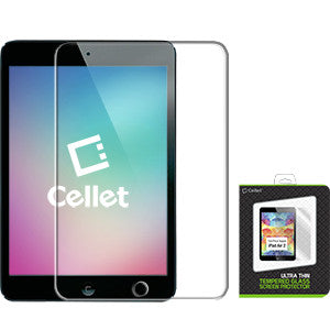 Cellet Premium 9H Tempered Glass Screen Protector for iPad Air / iPad Air 2 (0.3mm) - Mobile Accessories USA